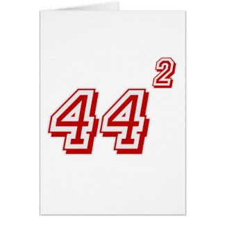 Obama 44 card