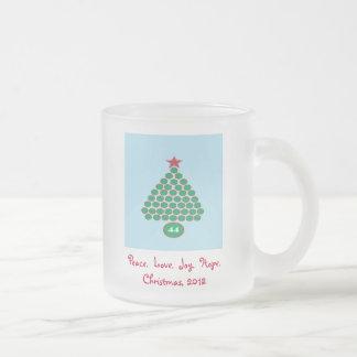 Obama 44 Christmas 2012 Frosted Gift Mug