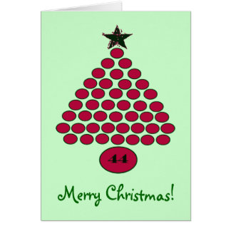 Obama 44 Christmas Card