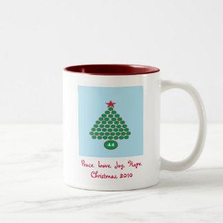 Obama 44 Christmas Mug