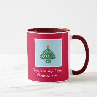Obama 44 Christmas Mug (Red)