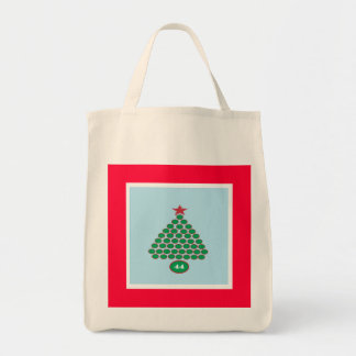 Obama 44 Christmas Shopping Tote