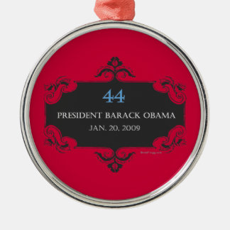Obama 44 Commemorative Christmas Ornament