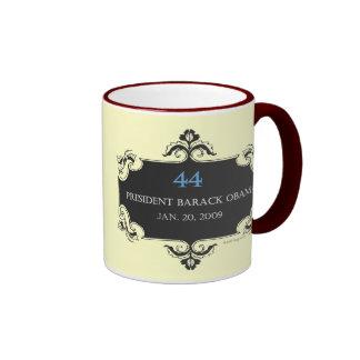 Obama 44 Commemorative Mug