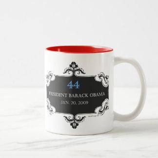 Obama 44 Commemorative Mug (Red)