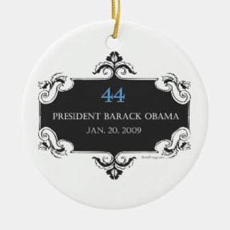 Obama 44 Commemorative Ornament