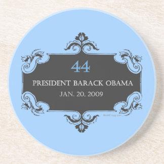 Obama 44 Commemorative Sandstone Coaster