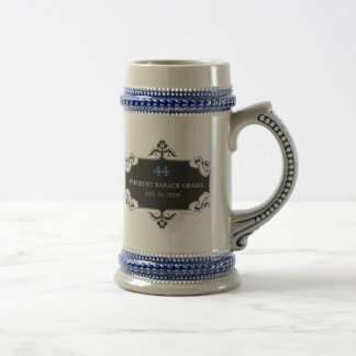 Obama 44 Commemorative Stein Coffee Mugs