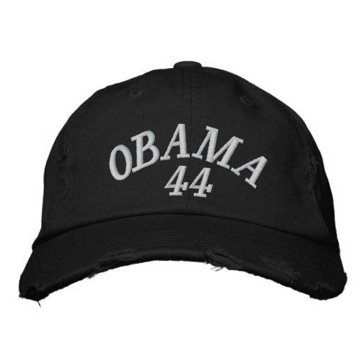 OBAMA 44 EMBROIDERED BASEBALL CAP