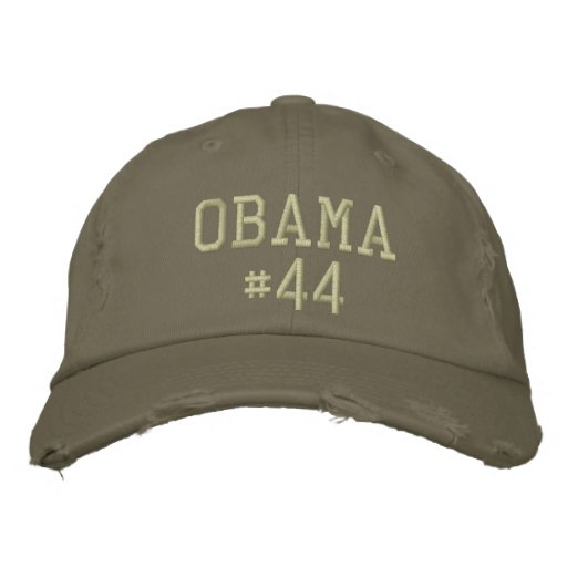 Obama #44 embroidered hat