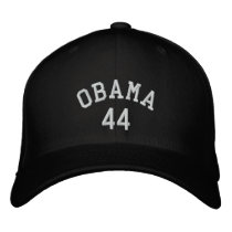 Obama 44 Embroidered Hat