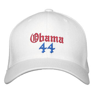 Obama, 44 Embroidered Hats