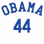 Obama 44 Embroidered Shirt