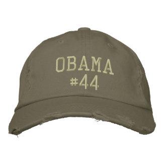 Obama 44 gorra de béisbol bordada