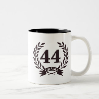 Obama 44 Inauguration Two-Tone Coffee Mug