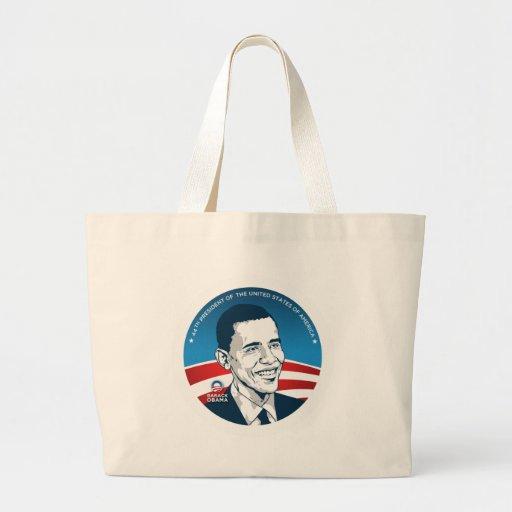 obama 44.os #2 bolsa tela grande