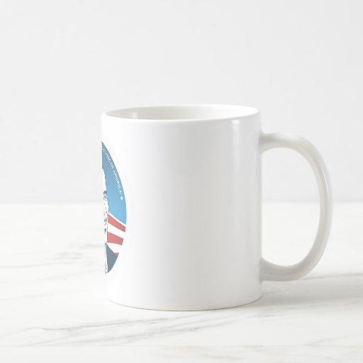 obama 44.os #2 taza básica blanca