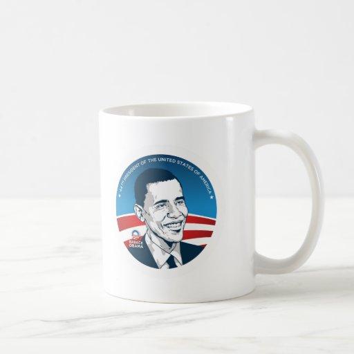 obama 44.os #2 tazas de café
