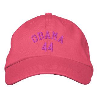 Obama 44 Pink Embroidered Hat
