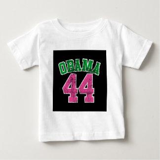 obama 44 pink green for dark womens baby T-Shirt