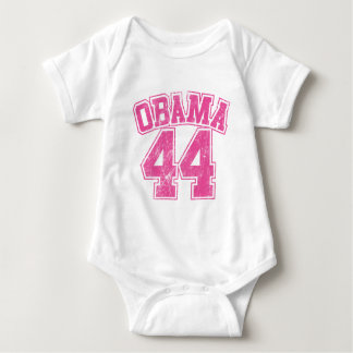 obama 44 pink light womens baby bodysuit