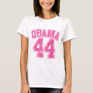obama 44 pink light womens T-Shirt