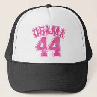 obama 44 pink light womens trucker hat
