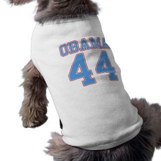 Obama - 44 playera sin mangas para perro