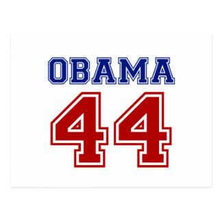 Obama 44 postcard