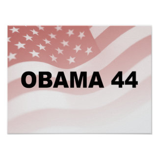OBAMA 44 POSTERS