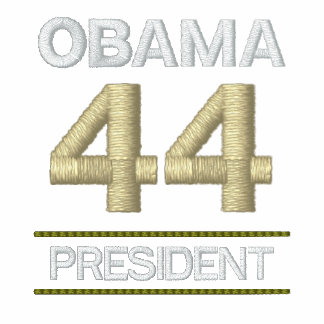 OBAMA - 44 President - Embroidered Shirt