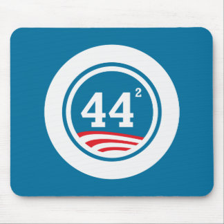 Obama - 44 Squared Mouse Pad