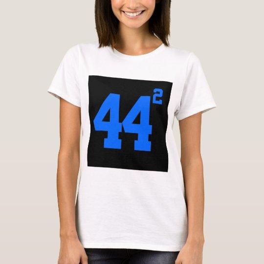 obama 44 squared womans's dark shirt