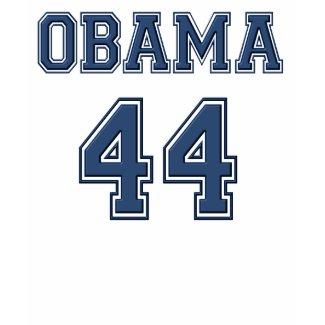 Obama 44 t-shirt shirt