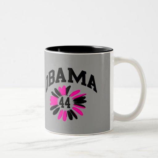 Obama #44 taza