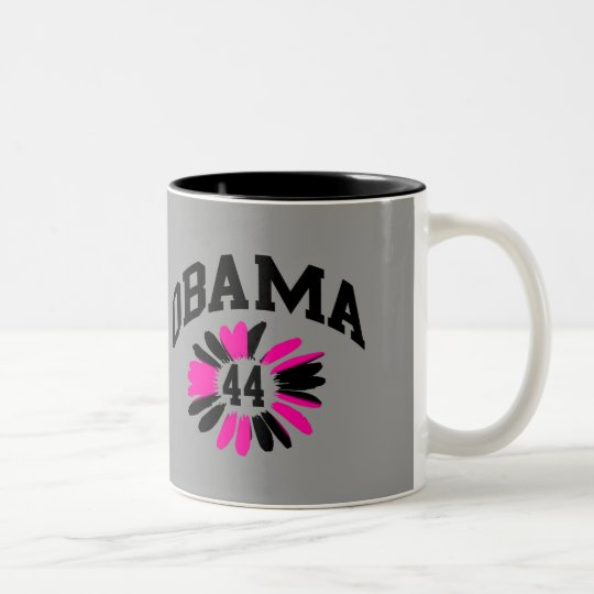 Obama #44 Two-Tone coffee mug