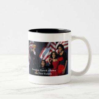 Obama 44th First Family Mug