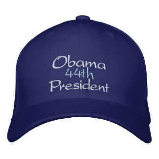 OBAMA 44th PRESIDENT, 2nd TERM INAUGURATION, 2013 Embroidered Baseball Cap