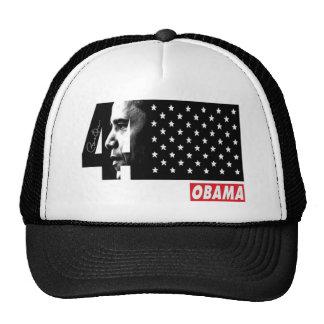 OBAMA 44TH President Signature Editions Trucker Hat