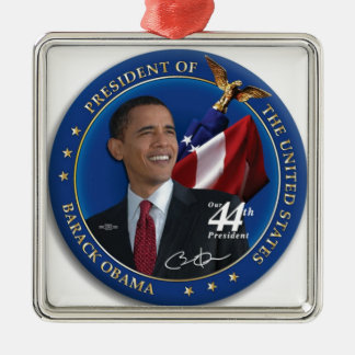 Obama 44th United States President Collection Metal Ornament