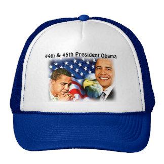 Obama-44th y 45 o presidente del States_ unido Gorra