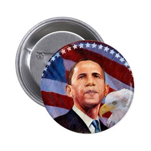 Obama,45th President of The United States_ Buttons