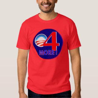 Obama 4 más años remera