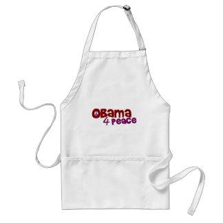 Obama 4 Peace Adult Apron