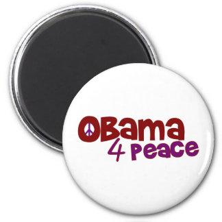 Obama 4 Peace Magnet