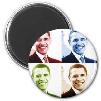 obama 4chrome 2 inch round magnet
