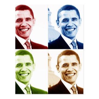 obama 4chrome postcard