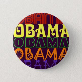 Obama 5 pinback button