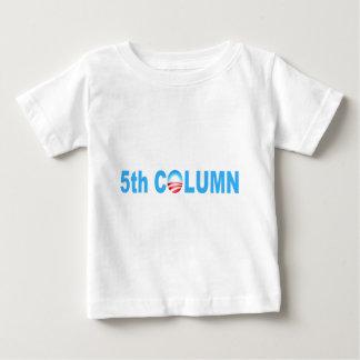 OBAMA 5TH COLUMN REG BABY T-Shirt