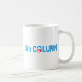 OBAMA 5TH COLUMN REG COFFEE MUG